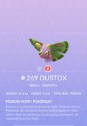 Dustox Pokedex