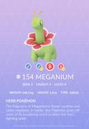 Meganium Pokedex