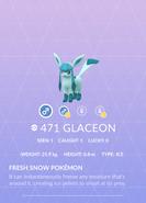 Glaceon Pokedex
