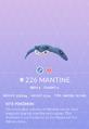 Mantine Pokedex