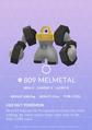 Melmetal Pokedex