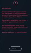 First Strike notice