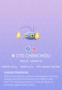 Chinchou Pokedex