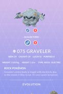 Graveler Alolan Pokedex