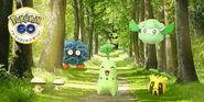 Friendship Day, Grass-type Pokémon