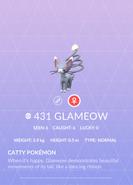 Glameow Pokedex