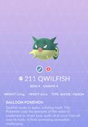 Qwilfish Pokedex