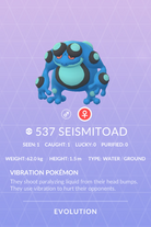Seismitoad Pokedex
