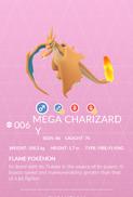 Charizard Y Mega Pokedex