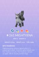 Mightyena Pokedex