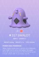 Swalot Pokedex