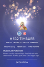 Timburr Pokedex