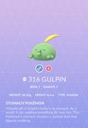 Gulpin Pokedex