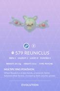 Reuniclus Pokedex
