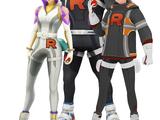 Team GO Rocket Leaders