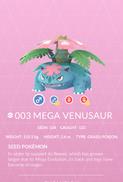 Venusaur Mega Pokedex