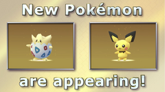 New pokemon are appearing