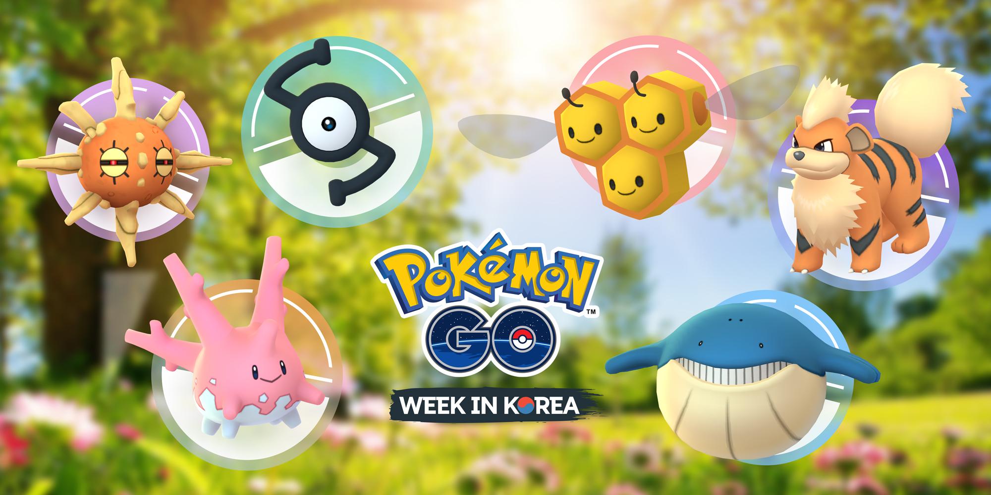 Pokémon GO Week in Korea 2019