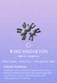 Magneton Pokedex