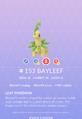 Bayleef Pokedex