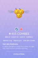 Combee Pokedex