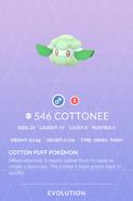 Cottonee Pokedex