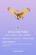 Mothim Pokedex