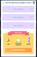 Special Research tasks set completed