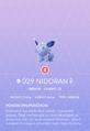 Nidoran♀ Pokedex