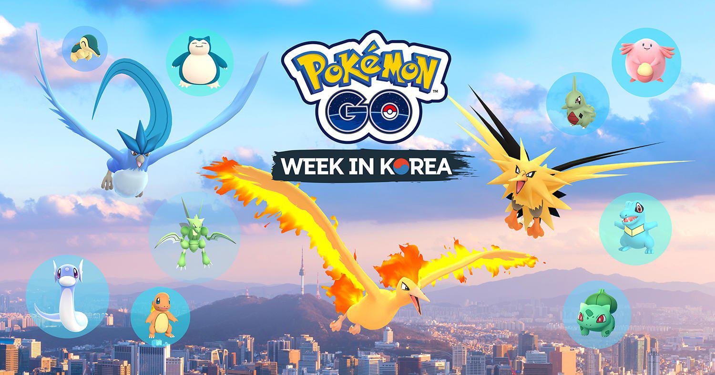 Pokémon GO Week in Korea 2017