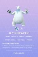 Beartic Pokedex