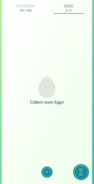 Egg collection empty