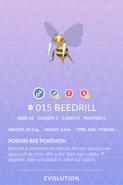 Beedrill Pokedex