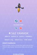 Yamask Pokedex