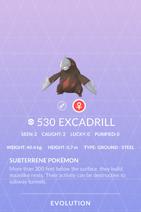 Excadrill Pokedex