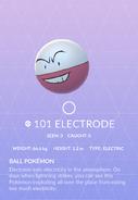 Electrode Pokedex