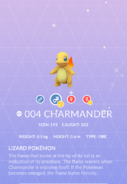 Charmander Shiny Pokedex