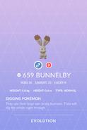Bunnelby Pokedex