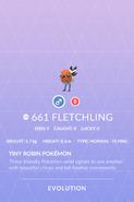 Fletchling Pokedex