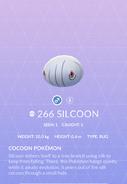 Silcoon Pokedex