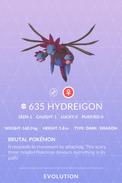 Hydreigon Pokedex
