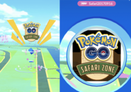 PokéStops Safari Zone 2017