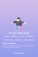 Drilbur Pokedex