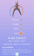 Deoxys Speed Pokedex
