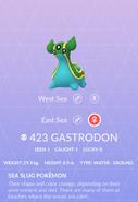 Gastrodon East Pokedex