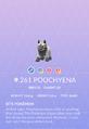 Poochyena Pokedex