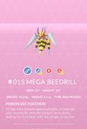 Beedrill Mega Pokedex