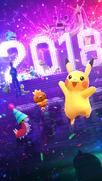 New Year 2018 loading screen