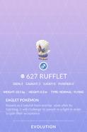 Rufflet Pokedex