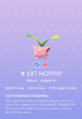 Hoppip Pokedex